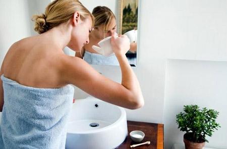 Промывание носа раствором