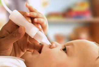 как понять что у новорожденного насморк