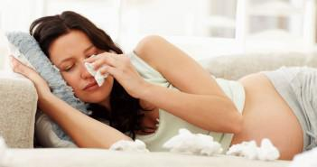 Лечение насморка во время беременности