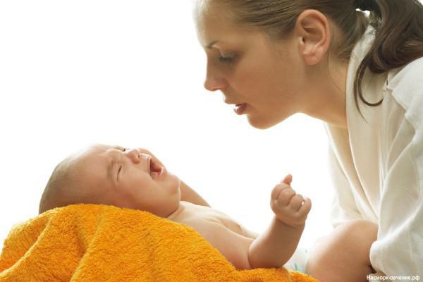 Насморк у новорожденного