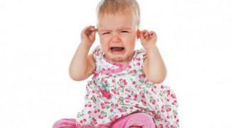 Лечение отита у ребенка до года