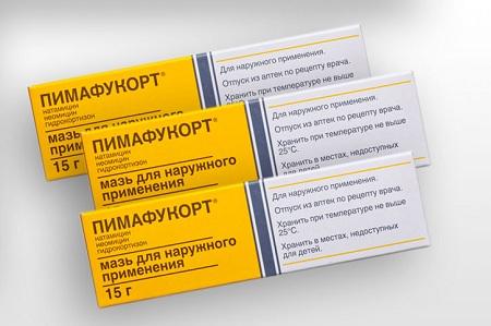 Пимафукорт - мазь местного применения для лечения отомикоза