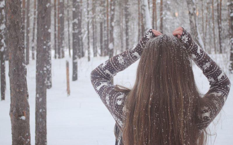 Выпадение волос зимой