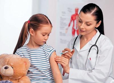 введение вакцины от кори