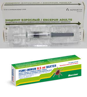 вакцины от клещевого энцефалита